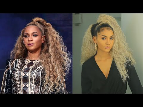 Beyonce Inspired Hairstyle Youtube