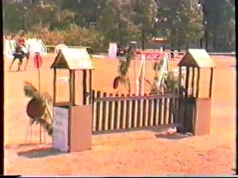 1986 Zambia   Kitwe, Derby, CHL, part 3, Jumpoff, Roméo, Open, Piers, by HabariSalam, VHS48
