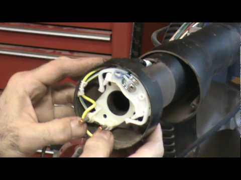 mustang turn signal switch replace operationmustang com youtube Turn Signal Switch Wiring Diagram