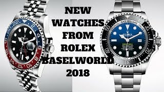 Rolex Release New Watches At Baselworld 2018