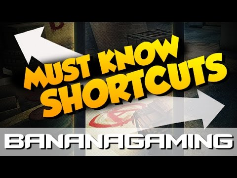 CS:GO - MUST KNOW SHORTCUTS ON ALL MAPS