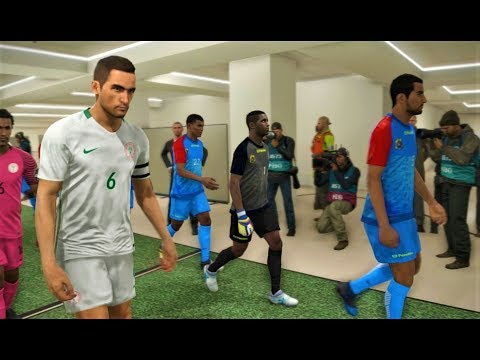 Congo DR vs Nigeria | African Cup of Nations Final | PES 2018 Gameplay HD