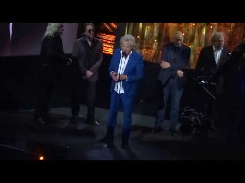 Rock Hall Inductions - The Moody Blues - Acceptance Speeches - Cleveland - 4/14/18