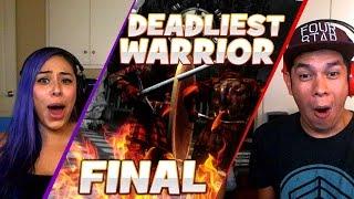 flying body parts deadliest warrior final match husband vs wife