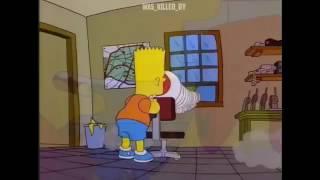 Bart Simpson Megaphone Meme
