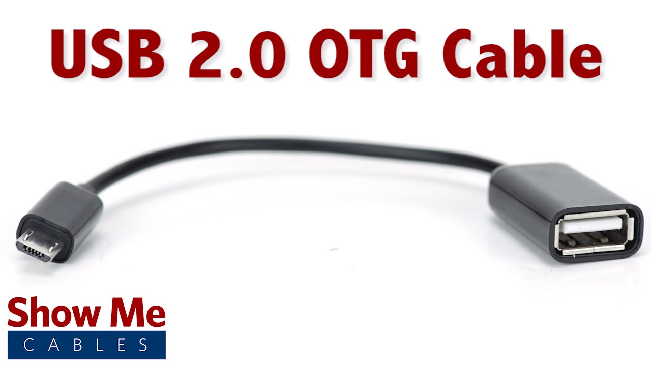 Easy To Use USB 2.0 Micro OTG Cable - Highlight - YouTube