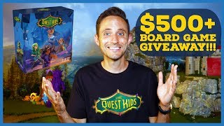 Fantasy Board Games Giveaway from The Quest Kids