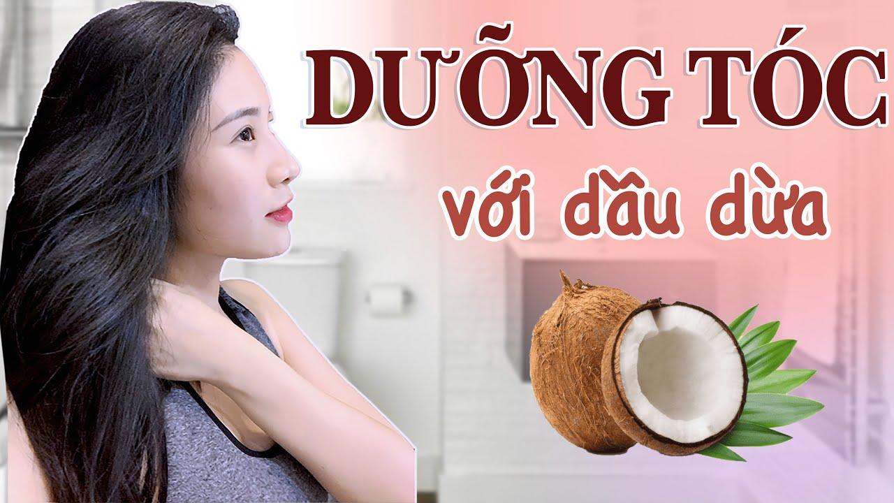 Chăm sóc tóc siêu nhanh – ủ khô tóc với dầu dừa | FLASH BEAUTY #Ep1