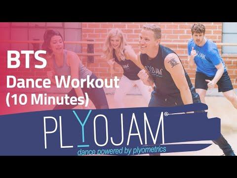 James Corden's Favorite Dance Workout   BTS   PlyoJam