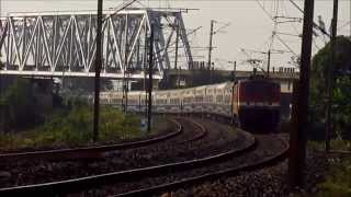 Stunning Entry of Janshatabdi into High Speed Howrah-Barddhaman Chord!!!