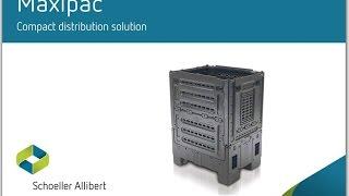 Складной транспортный контейнер Maxipac лучшее решение для дистрибуции и складской логистики(Schoeller Allibert Maxipac http://www.kiit.ru складной транспортный контейнер лучшее решение для дистрибуции и складской логис..., 2014-02-17T12:40:31.000Z)