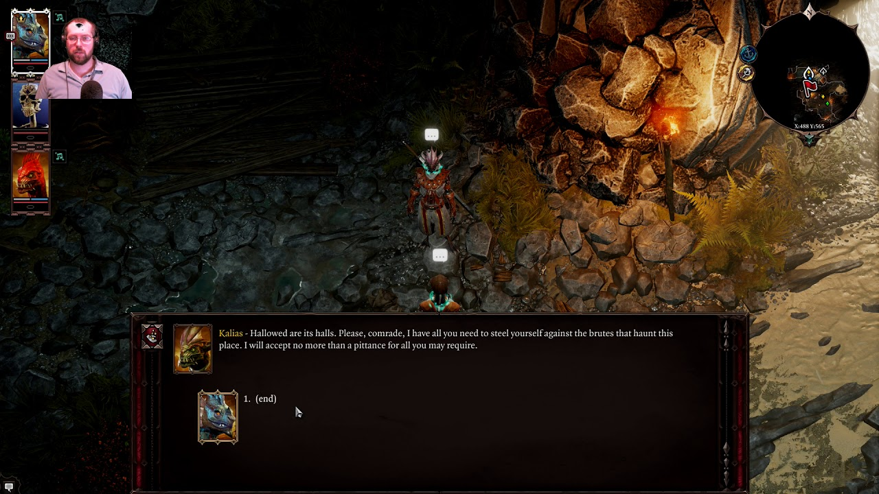 Divinity Original Sin Ii Lizardman Conjurer Part 3 Youtube