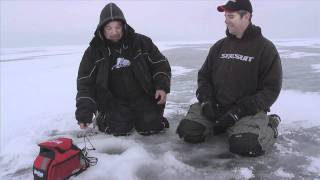 Mille Lacs Lake Fishing Video Walleye Jan 27, 2012 - On Ice (#0022)(James Holst and Dave Koonce of In-Depth Outdoors, share an update on Mille Lacs Lake fishing conditions on January 26, 2012 and ice some great walleyes., 2012-01-27T09:54:53.000Z)