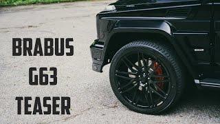 BRABUS G63 Widestar Teaser   Gasoline Culture