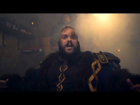 WIND ROSE - Drunken Dwarves (Official Video)   Napalm Records