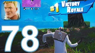 Fortnite - Gameplay Walkthrough Part 78 - Solo Win (iOS)