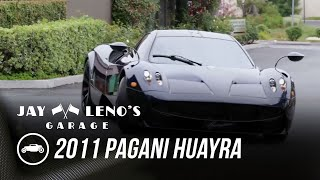 homepage tile video photo for Jay Leno, Keith Urban, And The 2011 Pagani Huayra - Jay Leno's Garage