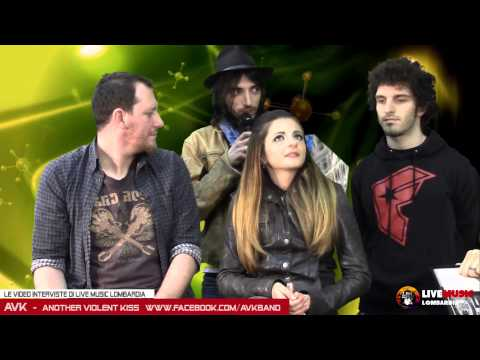 Le Video Interviste di Live Music Lombardia - AVK (Another Violent Kiss)