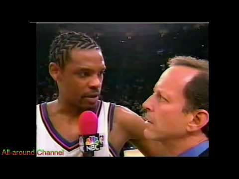 Latrell Sprewell, Allan Houston 60pts vs. Pacers 2000 Playoffs Gm3