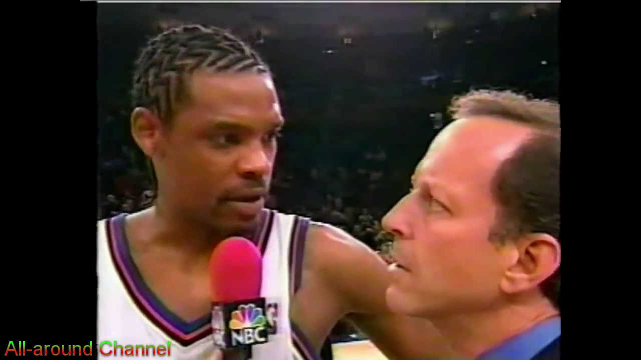 Latrell Sprewell Allan Houston 60pts vs Pacers 2000 Playoffs Gm3