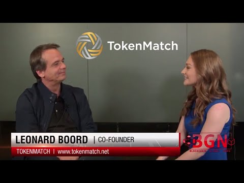 TokenMatch | Co-Founder Leonard Boord | ICO Teams Present to Groups of Investors