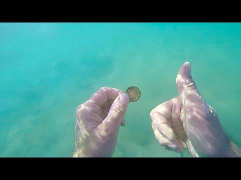 Подводный поиск.ЦАРСКИЙ ПЛЯЖ.ЗОЛОТО /HD