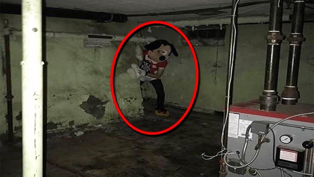 10 Страшных Вещей в Подвале, Снятых На Камеру