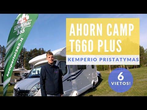 AHORN CAMP T660 kemperio pristatymas