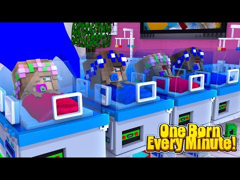 ONE BORN EVERY MINUTE! | Minecraft Little Kelly