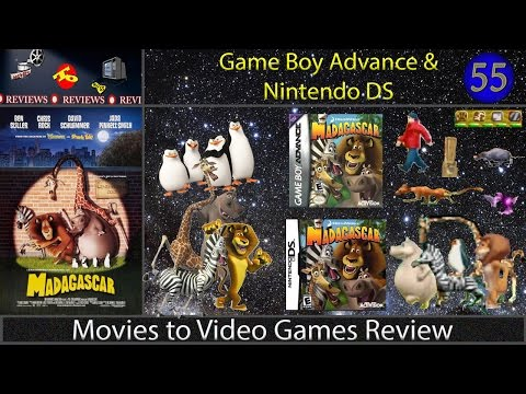 Movies to Video Games Review - Madagascar (GBA & NDS)