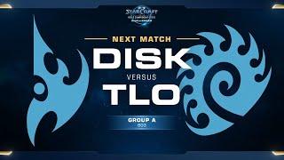 DisK vs TLO PvZ - Group A - WCS Challenger NA Season 1