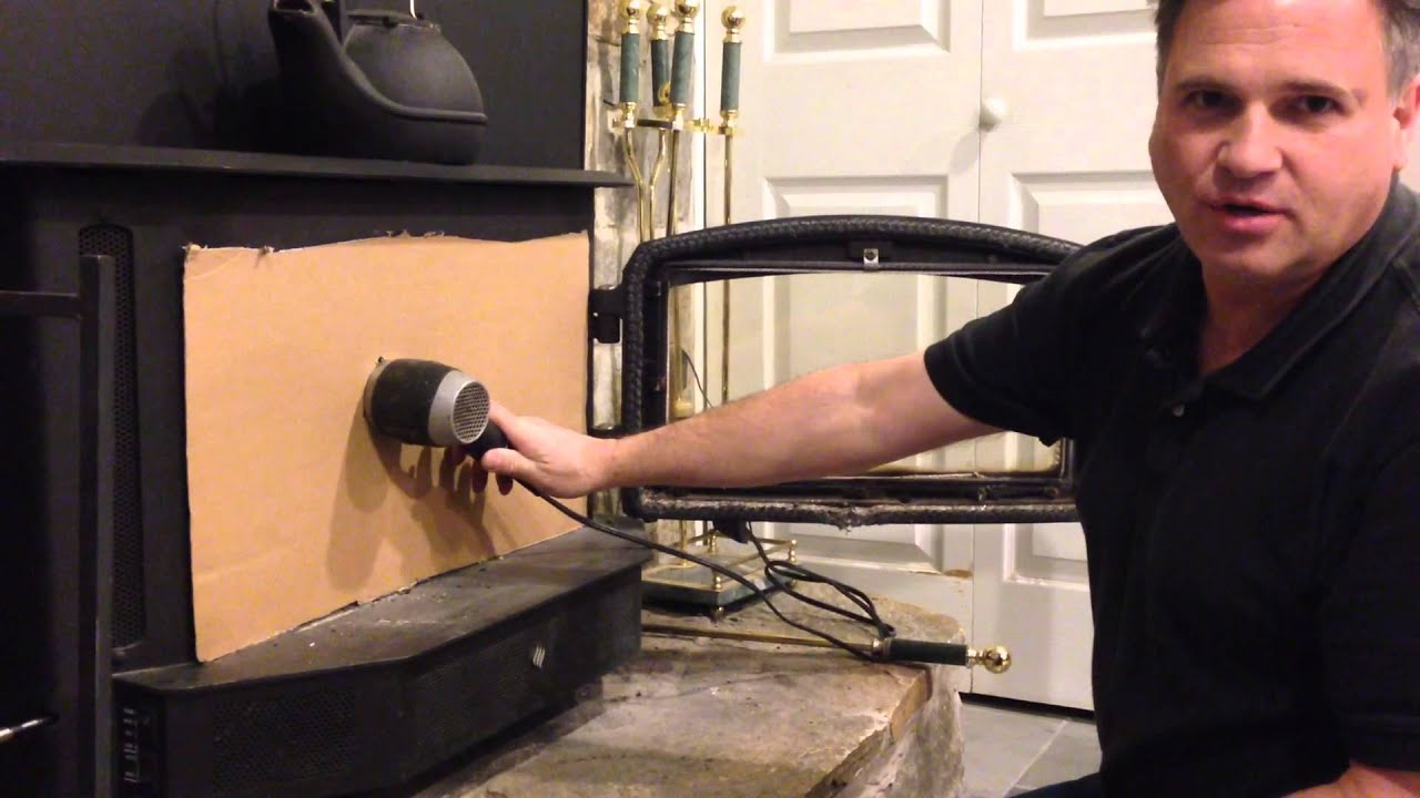 How to light a wood stove / fireplace and never smoke up the house ...