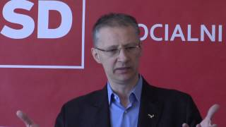 21.03.2014 Novinarska konferenca stranke SD - Igor Lukšič