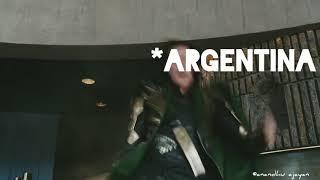 Argentina VS Croatia world cup football avengers troll vedio