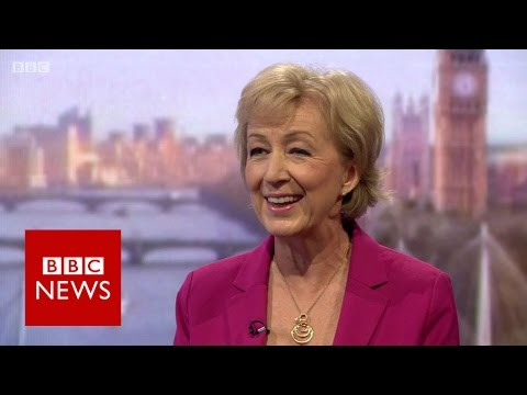 Andrea Leadsom: 'I want to make UK greatest country on Earth'