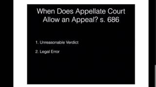 Appeal Routes in Criminal Cases