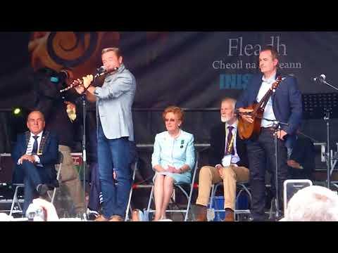 Michael Flatley Playing Flute