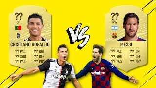 Cristiano Ronaldo vs. Lionel Messi : qui a la meilleure carte dans FIFA 20 ? | Oh My Goal