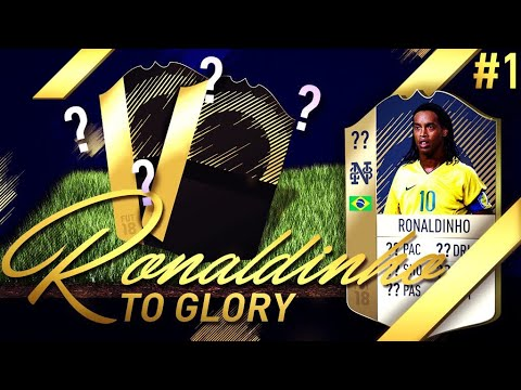 NEW SERIES! OMFG 2 INFORMS IN ONE PACK!!! - RONALDINHO TO GLORY #1 - FIFA 18 Ultimate Team