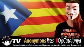 Anonymous Operation Free Catalonia