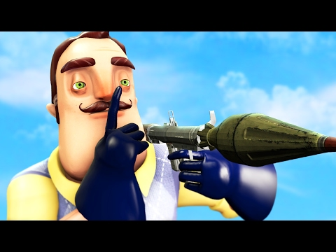 how to open doors in hello neighbor