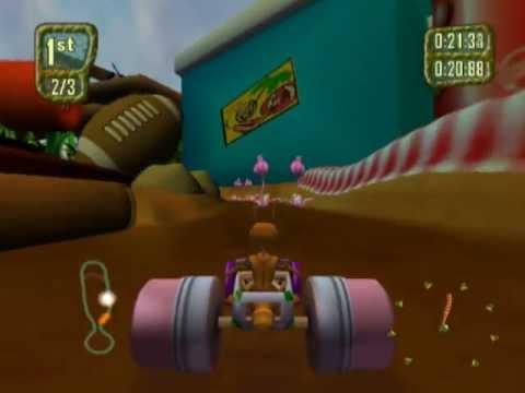 Antz Extreme Racing Игру