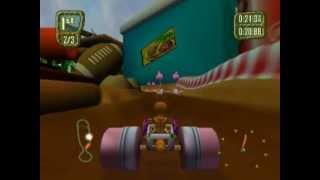 Antz Extreme Racing (PS2 Gameplay)