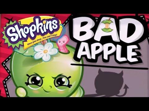 NEW 2021! - SHOPKINS Cartoon - BAD APPLE | Cartoons For Children