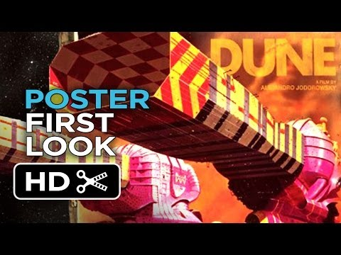 Jodorowsky's Dune - Poster First Look (2014) - Dune Documentary Movie HD