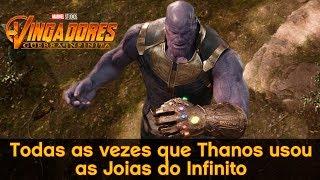 Gambar cover Todas as vezes que Thanos usou as Joias do Infinito #AMcorp - André Martins