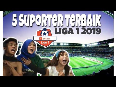 5 SUPORTER TERBAIK LIGA 1 INDONESIA 2019 || LIGA SHOPEE PEKAN KE-3