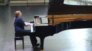 Christina Wald. Bartok, Allegro Barbaro, Sz. 49