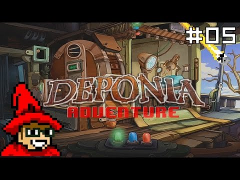 Deponia Adventure || E05 || Sugar Puff [Let's Play]