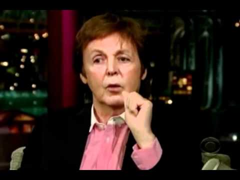 Paul McCartney being funny and talking about Michael Jackson :)